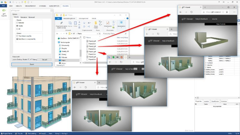 BIM Vision - freeware IFC model viewer