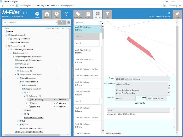 BIM Files Connect - zarządzanie plikami BCF