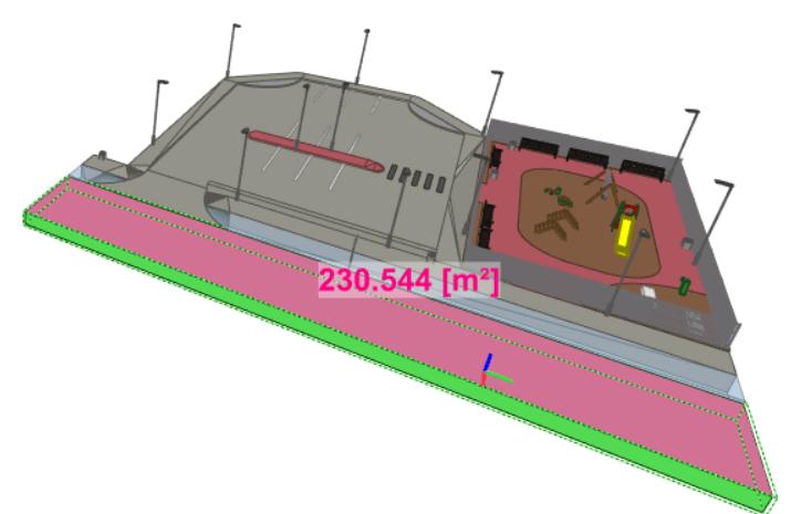 advanced reports emisja co2 powierzchnia i objętość