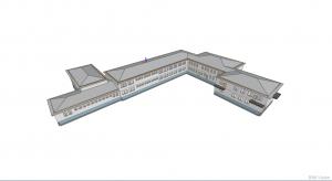 Integracja wielu modeli IFC w aplikacji BIMvision - Architektura