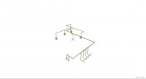 Integracja wielu modeli IFC w aplikacji BIMvision - instalacja gazowa
