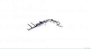 Integracja wielu modeli IFC w aplikacji BIMvision - instalacja wentylacyjna