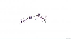 Integracja wielu modeli IFC w aplikacji BIMvision - instalacja wod.-kan.
