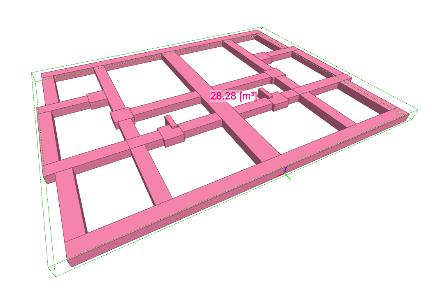 Zadanie 1: Wyznaczenie objętości betonu w fundamentach